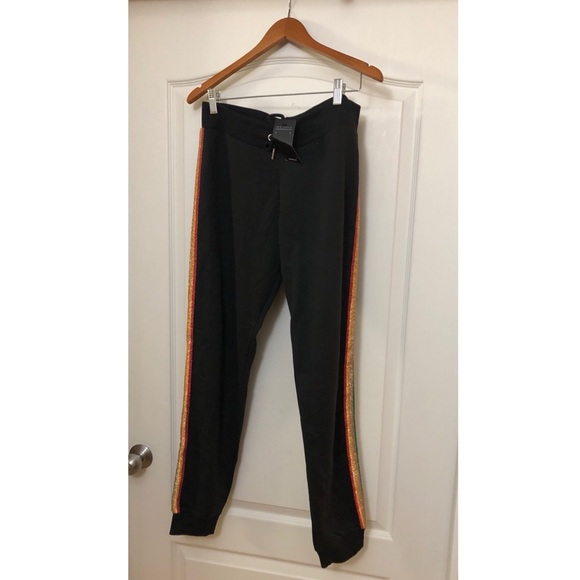 2ddc5e0865 ASOS New Look tapered joggers w striped sides NWT
